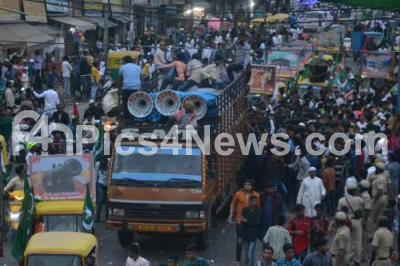 India Karnataka bangalore News Photo - Muslims participate